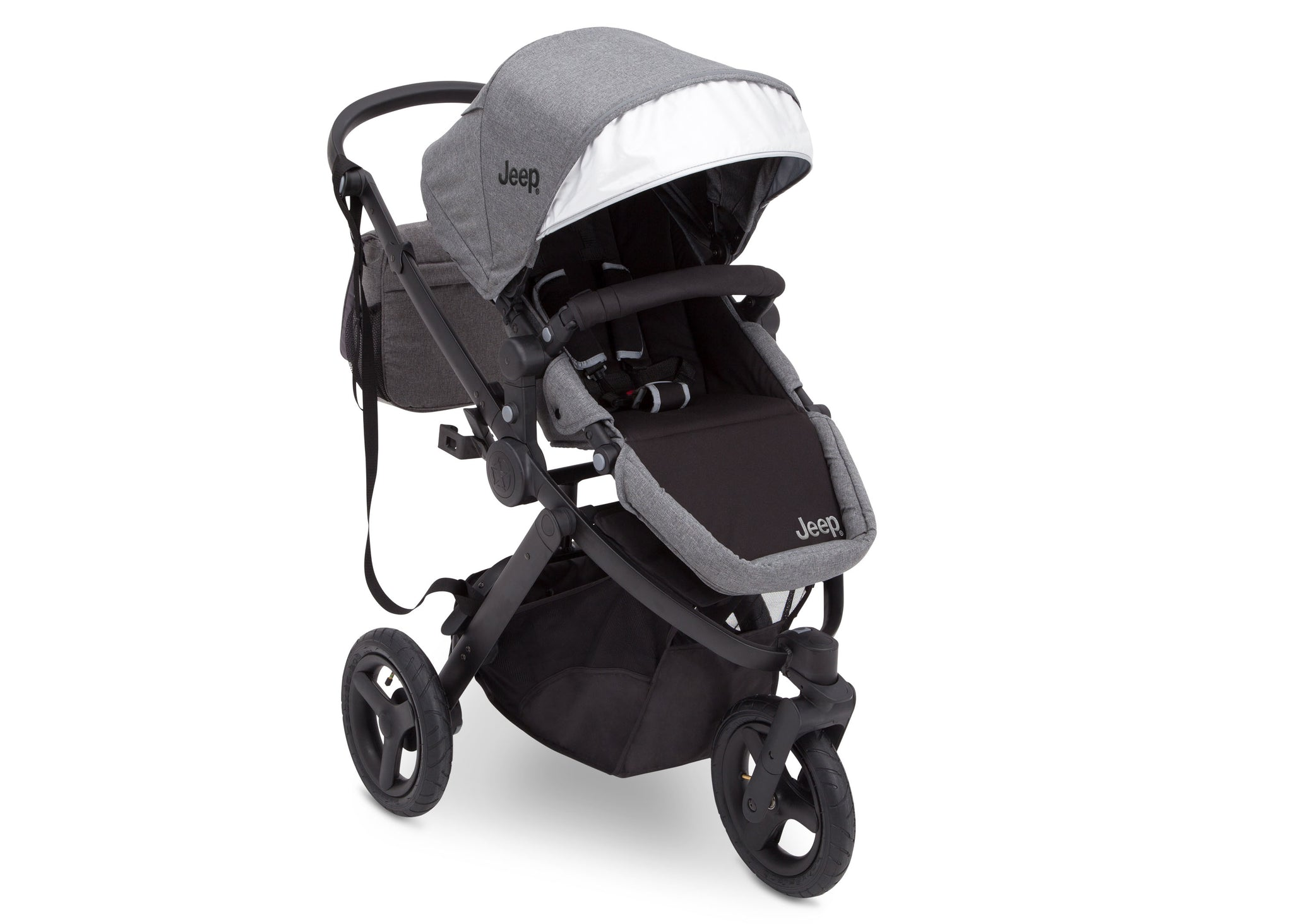 Jeep® Sport Utility All-Terrain Jogger Grey on Black 2500, Right View