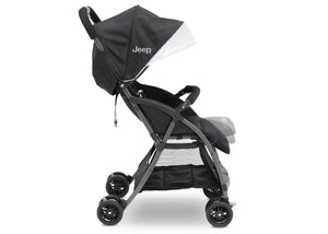 Jeep Ultralight Adventure Stroller by Delta Children, Dusk (2010), with an oversized canopy featuring a pop out SPF 50 sun visor