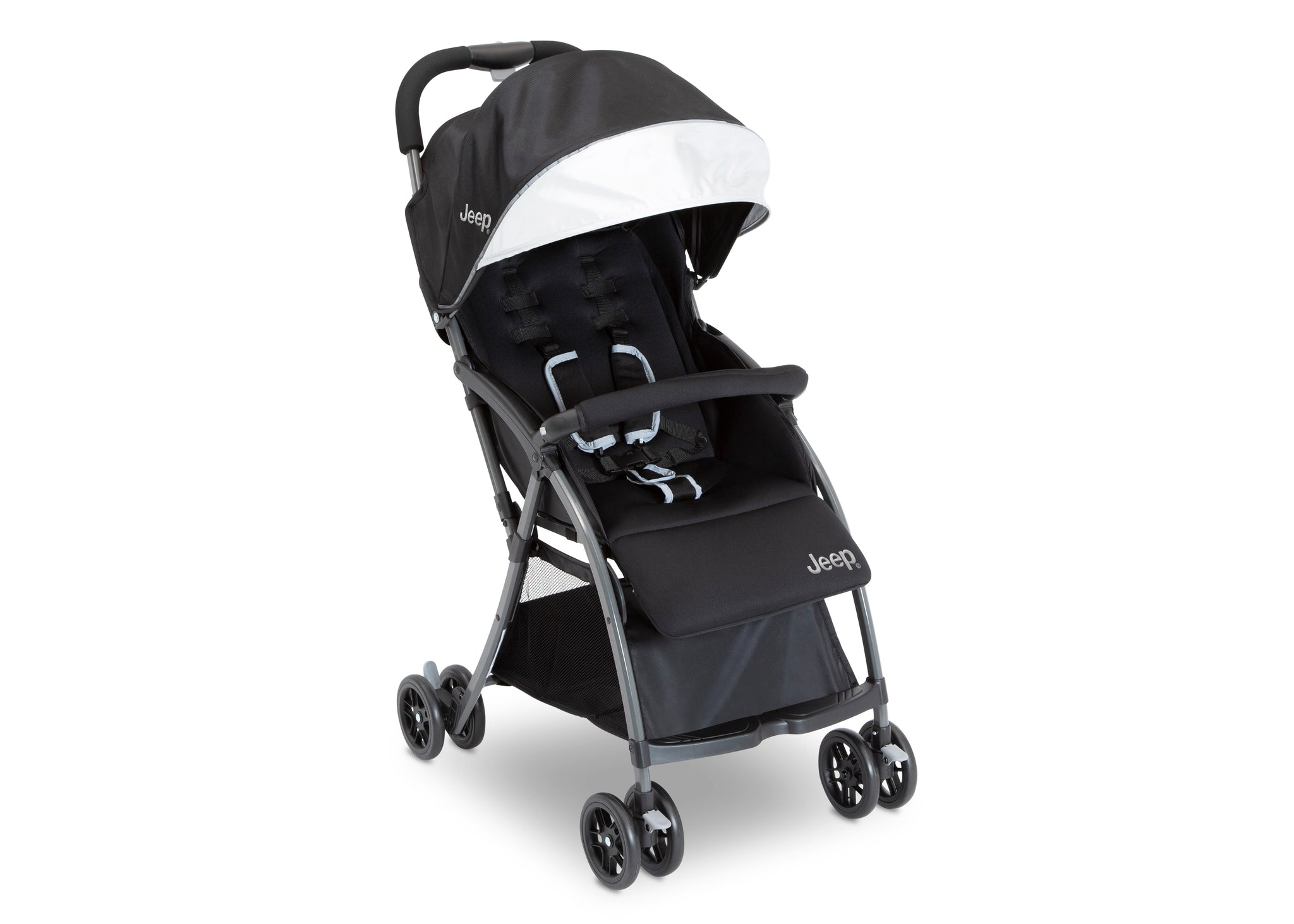 Jeep Ultralight Adventure Stroller by Delta Children, Dusk (2010), with two-position reclining seat and adjustable foot rest