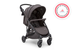 Jeep Gemini Stroller Boeing (2079), Right side view with Canopy