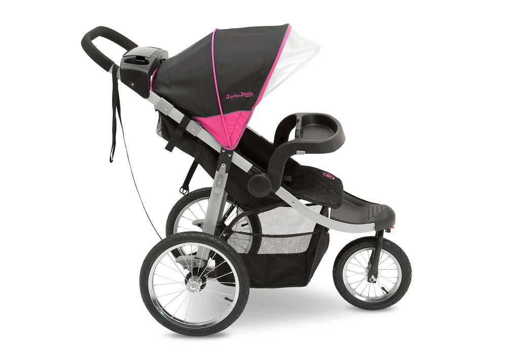 Jeep Unlimited Range Jogger Trek Pink Tonal (656) Side View c3c