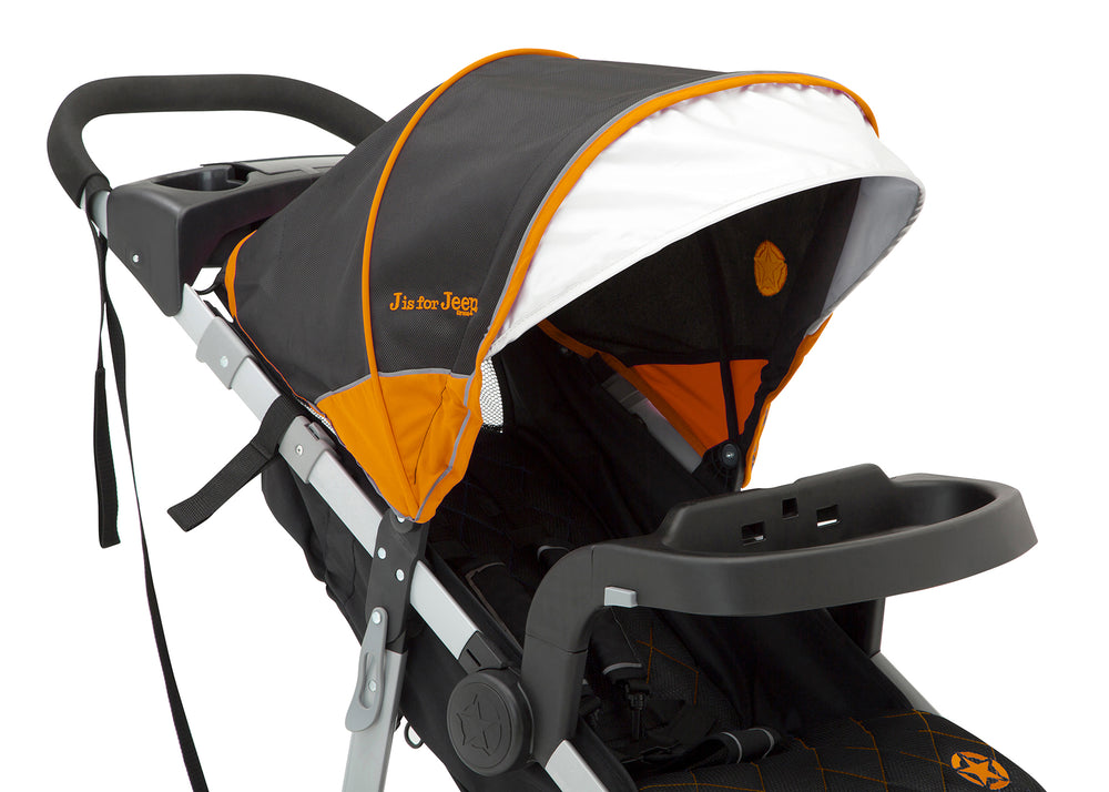 Jeep Unlimited Range Jogger Trek Orange (835) Canopy Detail View d6d