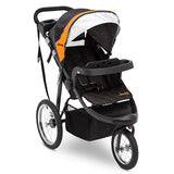 Delta Children Galaxy (850) Jeep® Deluxe Patriot Open Trails Jogger, Right Silo View