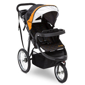 Jeep® Deluxe Patriot Open Trails Jogger by Delta Children, Galaxy (850), Full View
