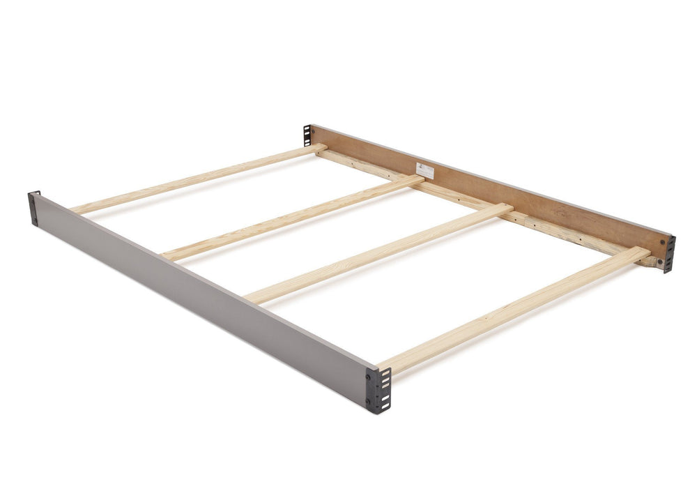 Simmons Kids Grey (026) Full Size Wood Bed Rails (180050) a1a
