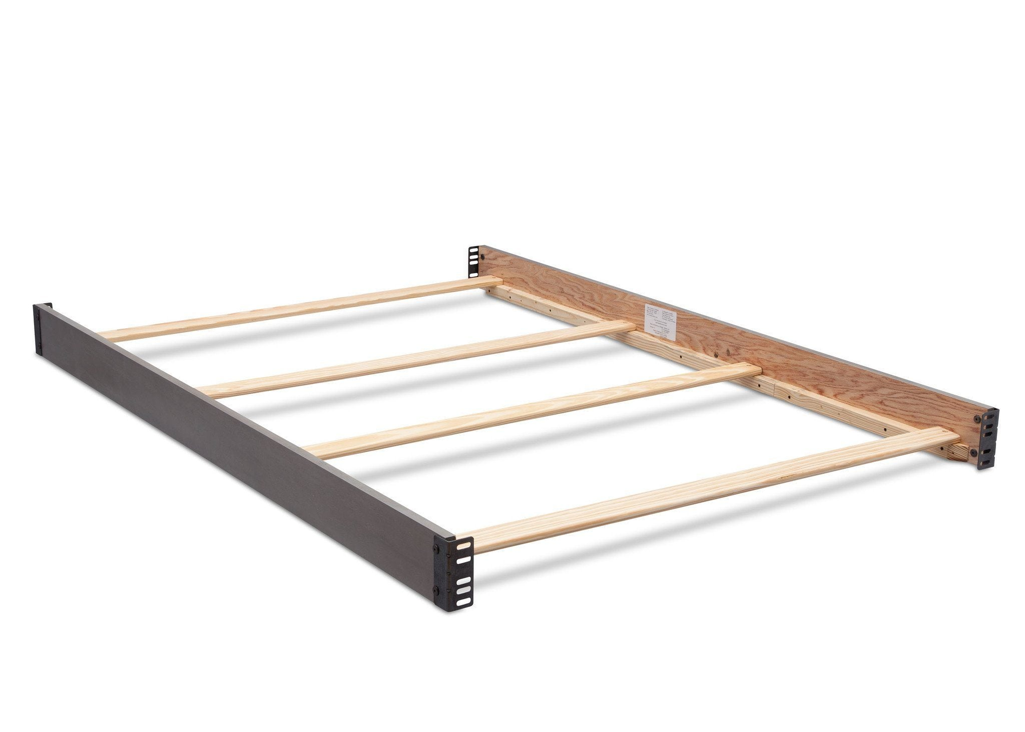 Simmons Kids Storm (161) Full Size Wood Bed Rails (180050) d1d for Bristol 4-in-1 Convertible Crib