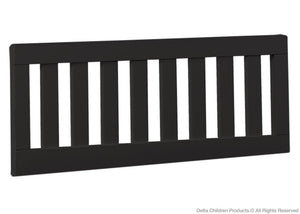 Simmons Kids Black (001) Toddler Guardrail (180116) a1a