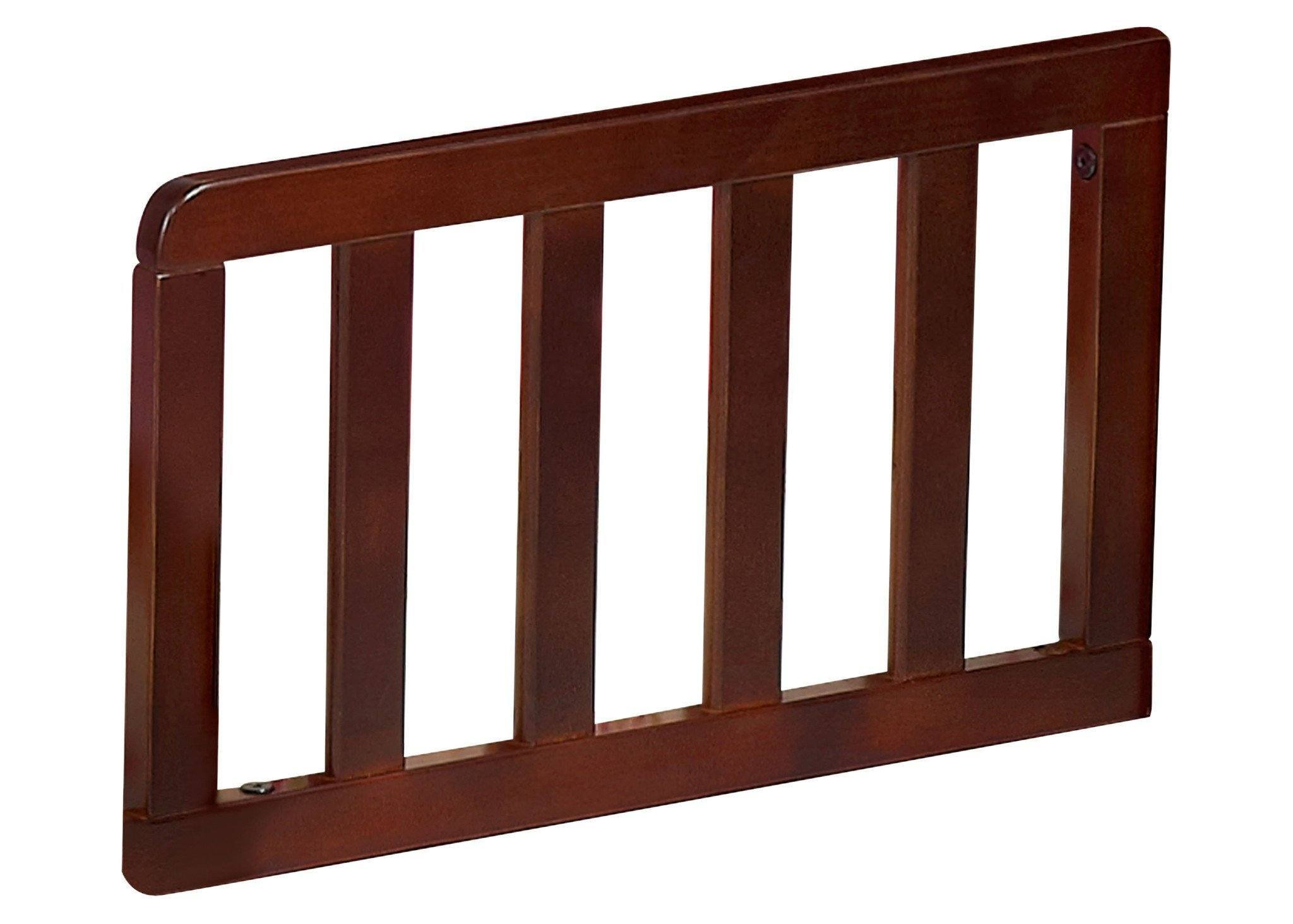 Simmons Kids LaBrosse Cherry (602) Toddler Guardrail Side View b1b