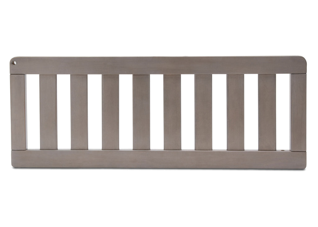 Simmons Kids Stained Grey (054) Toddler Guardrail (180125) b1b for Bellante 4-in-1 Convertible Crib