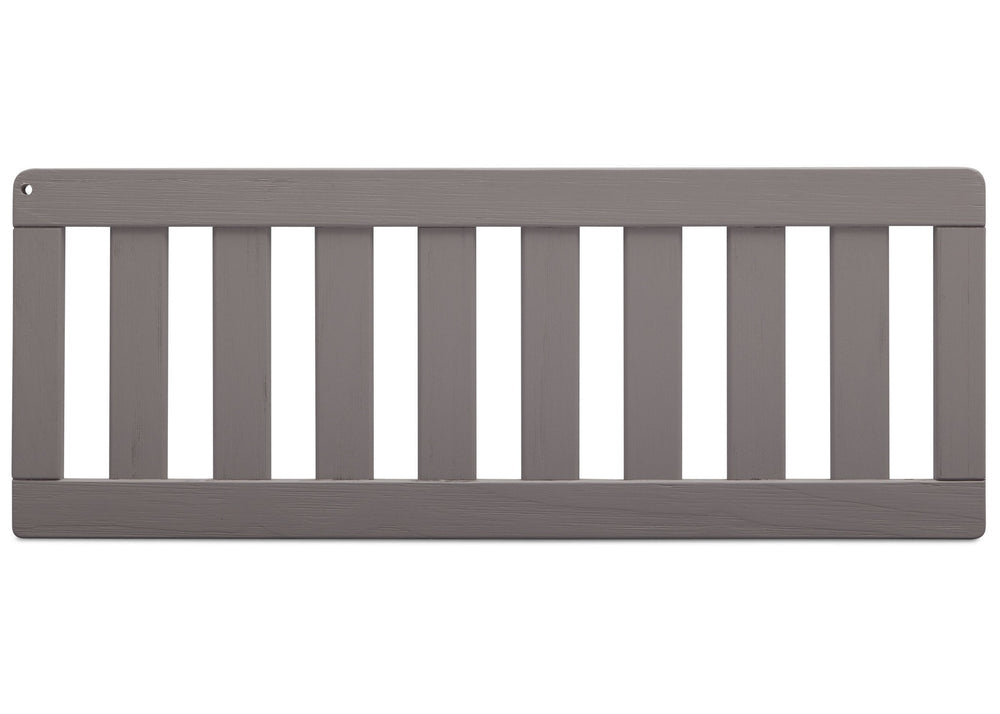 Simmons Kids Rustic Haze (940) Toddler Guardrail (180125) front view aa1aa