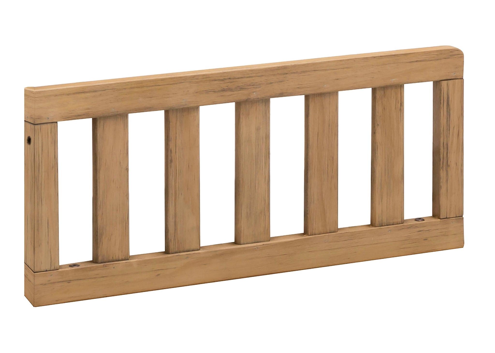 Simmons Kids Rustic Rye (754) Toddler Guardrail (180129), Angled View c1c