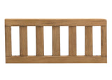 Simmons Kids Rustic Rye (754) Toddler Guardrail (180129), Angled View c2c