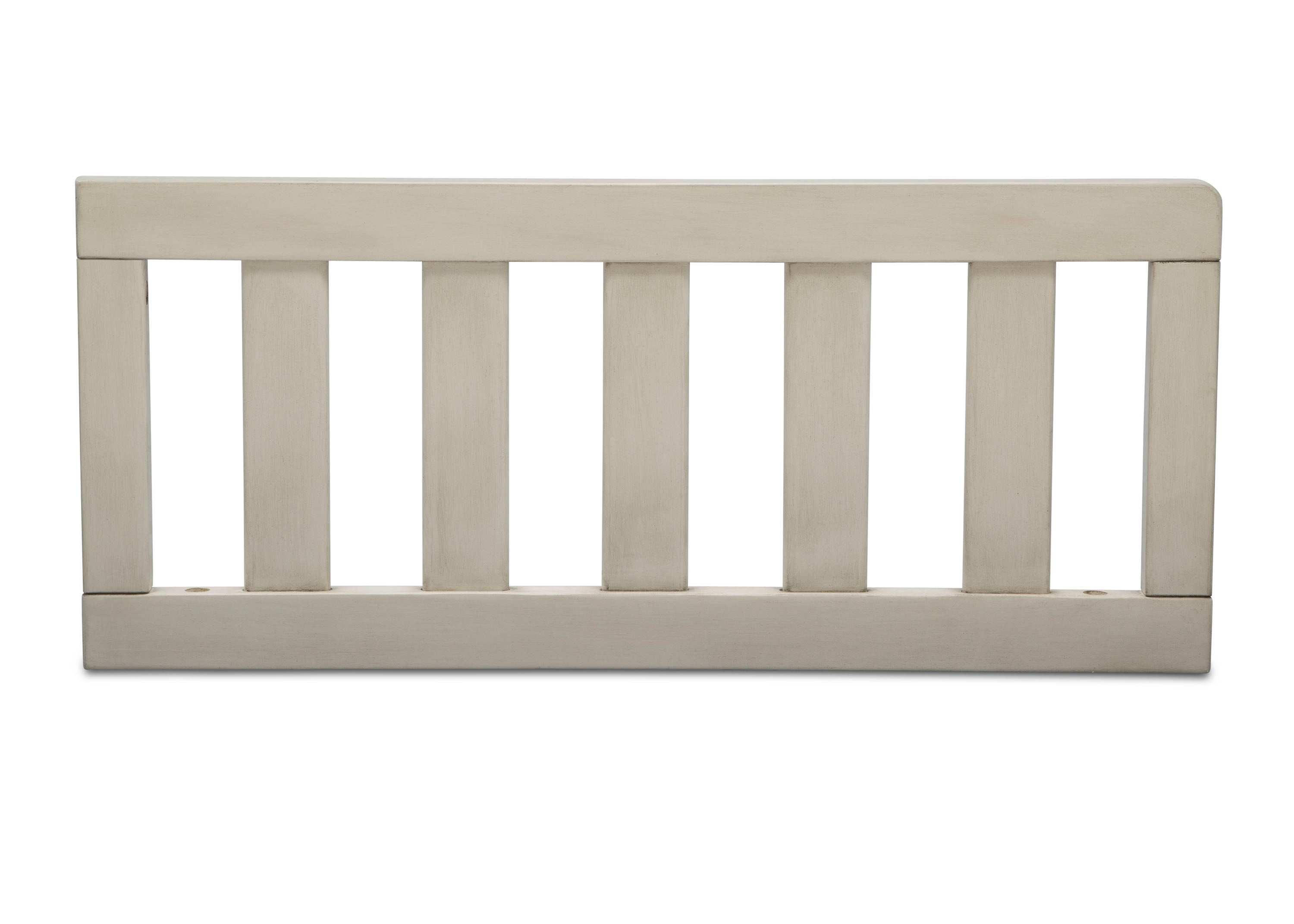 Delta Children Antique White (122) Toddler Guardrail (180130) Front Silo, a1a Bedford 4-in-1 Convertible Crib