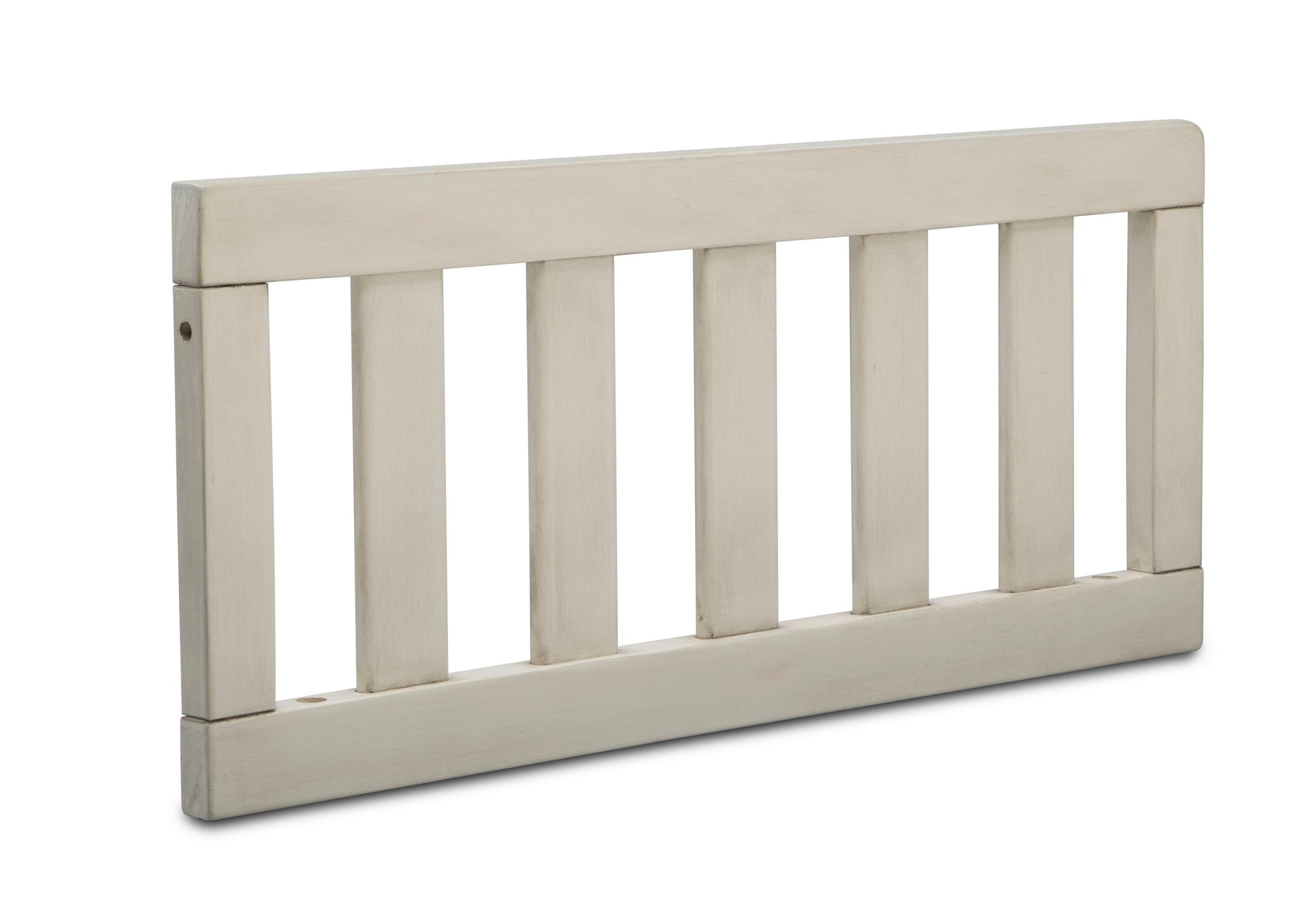 Delta Children Antique White (122) Toddler Guardrail (180130) Right Silo, a2a