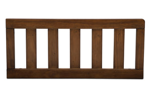 Delta Children Antique Chestnut (2100) Toddler Guardrail (180130) Front Silo, c1c