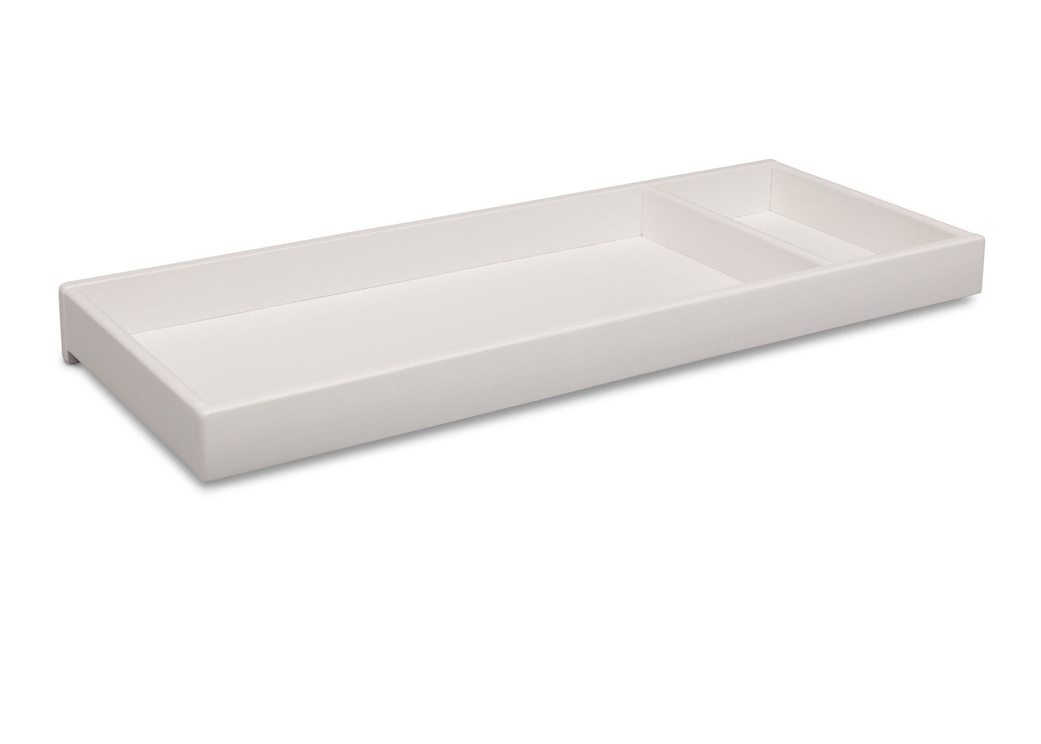 Simmons Kids Bianca (130) Deluxe Changing Tray, Angled View a2a