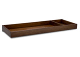 Simmons Kids Antique Chestnut (2100) Deluxe Changing Tray, Right View e2e