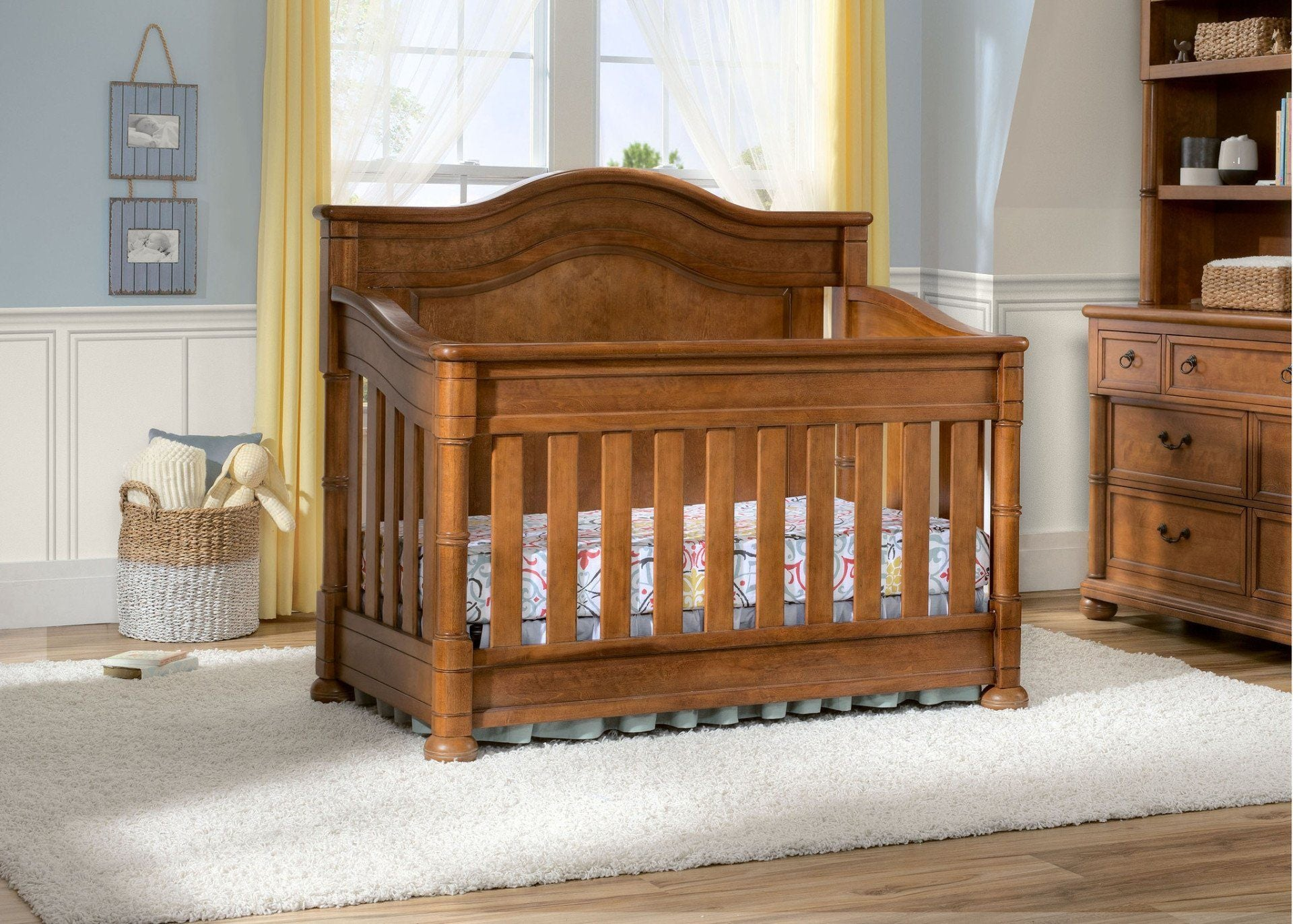 simmons nursery furniture. Simmons Kids Chestnut (227) Hanover Park Crib \u0027N\u0027 More In Setting B1b Nursery Furniture O