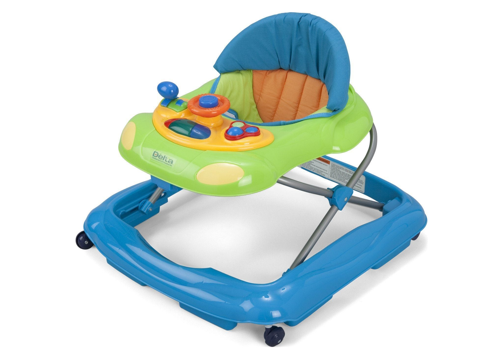 Delta Children Blue (456) Lil' Fun Walker Left Side View 1 b1b