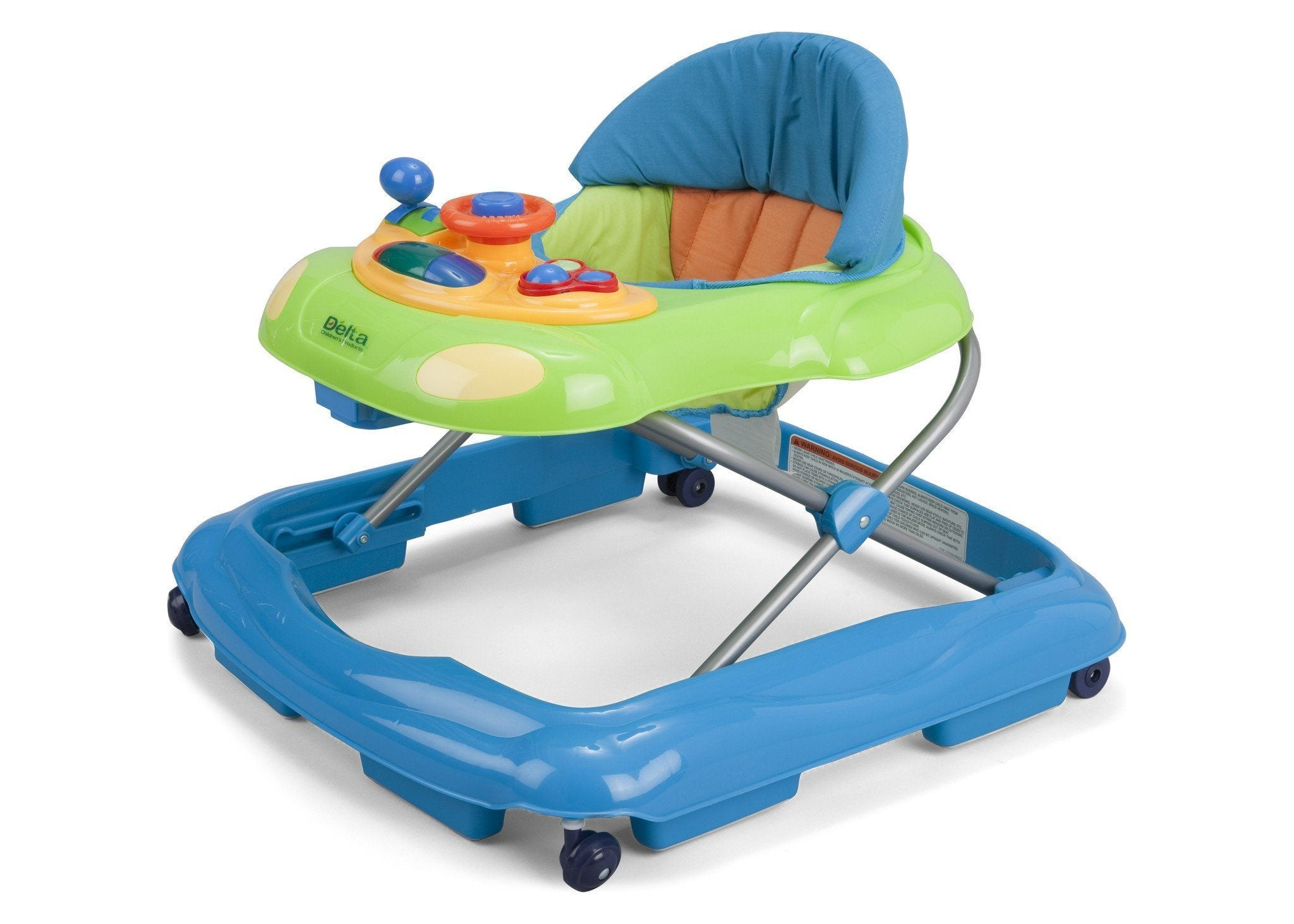 Delta Children Blue (456) Lil' Fun Walker Left Side View 2