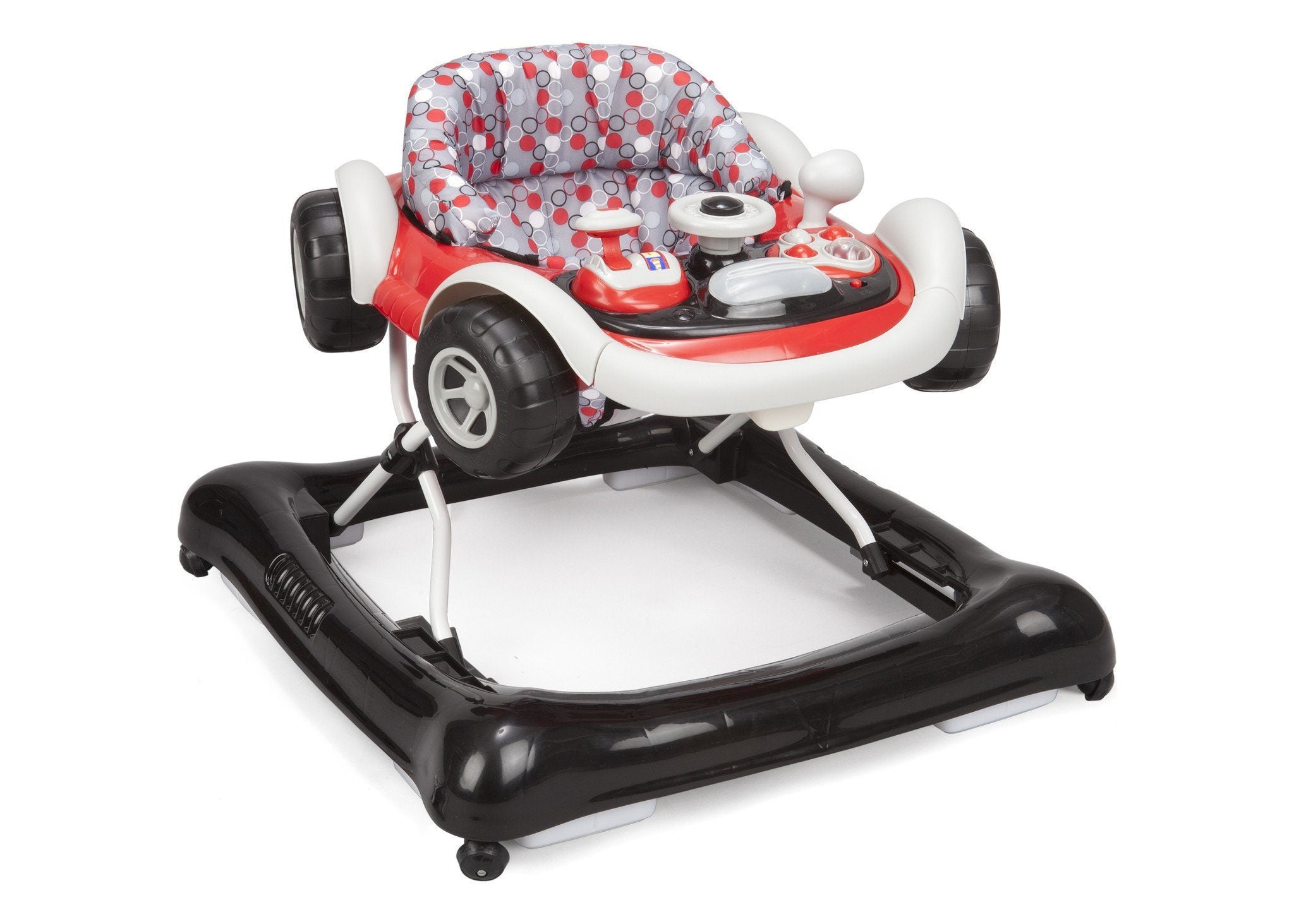 Delta Children Brody Grey (025) Lil Drive Walker, Right Side View a1a