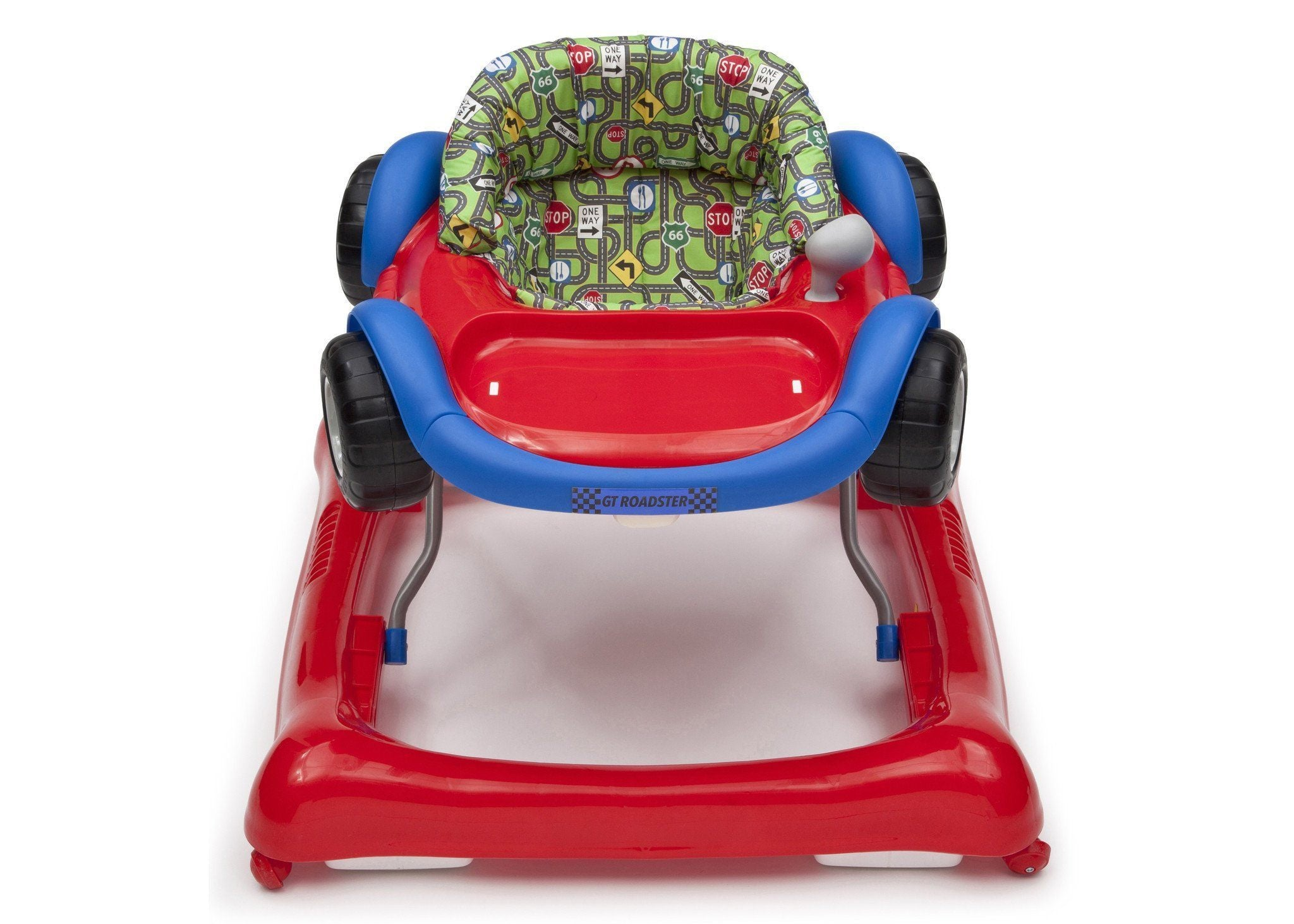 Delta Children GT Roadster (402) Lil Drive Walker, Front View b2b