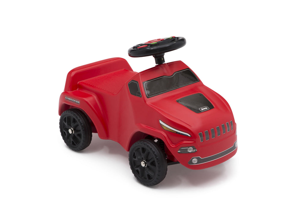 Delta Children Red (2312) Cherokee Ride-on Push Car (22308), Right View b5b