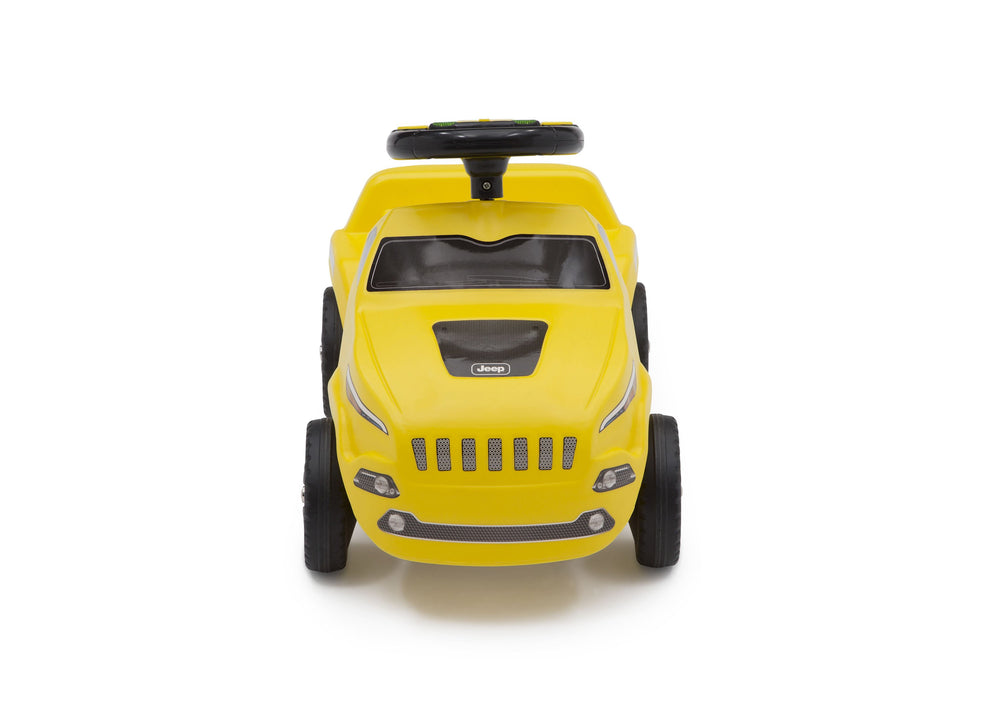 Delta Children Yellow (2314) Cherokee Ride-on Push Car (22308), Front View c4c