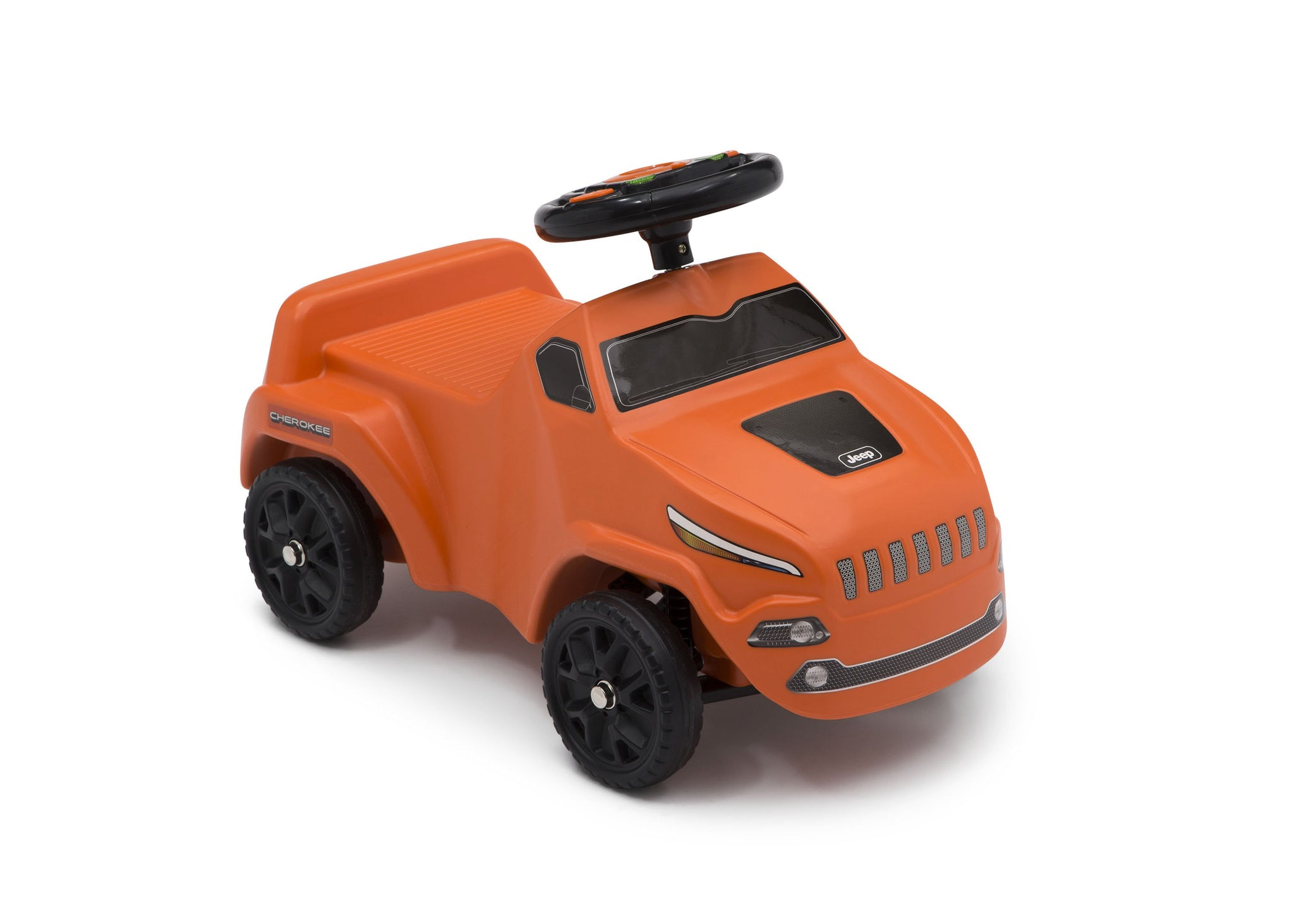 Jeep® Cherokee Ride-On Push Car Orange (865), Side View