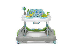 Delta Children Bubbly (2180) 4-in-1 Discover & Play Musical Walker, Front Silo View