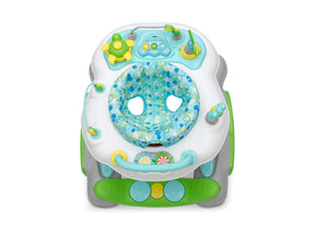 Delta Children Bubbly (2180) 4-in-1 Discover & Play Musical Walker, Top Silo View