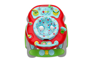 Delta Children Scribble (2181) 4-in-1 Discover & Play Musical Walker, Top Silo View