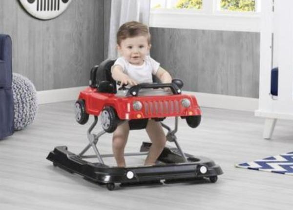 Jeep® Classic Wrangler 3-in-1 Activity Walker