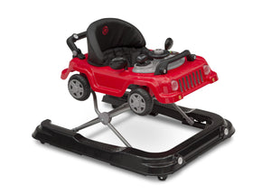 Jeep® Classic Wrangler 3-in-1 Activity Walker Red (2312), Side View
