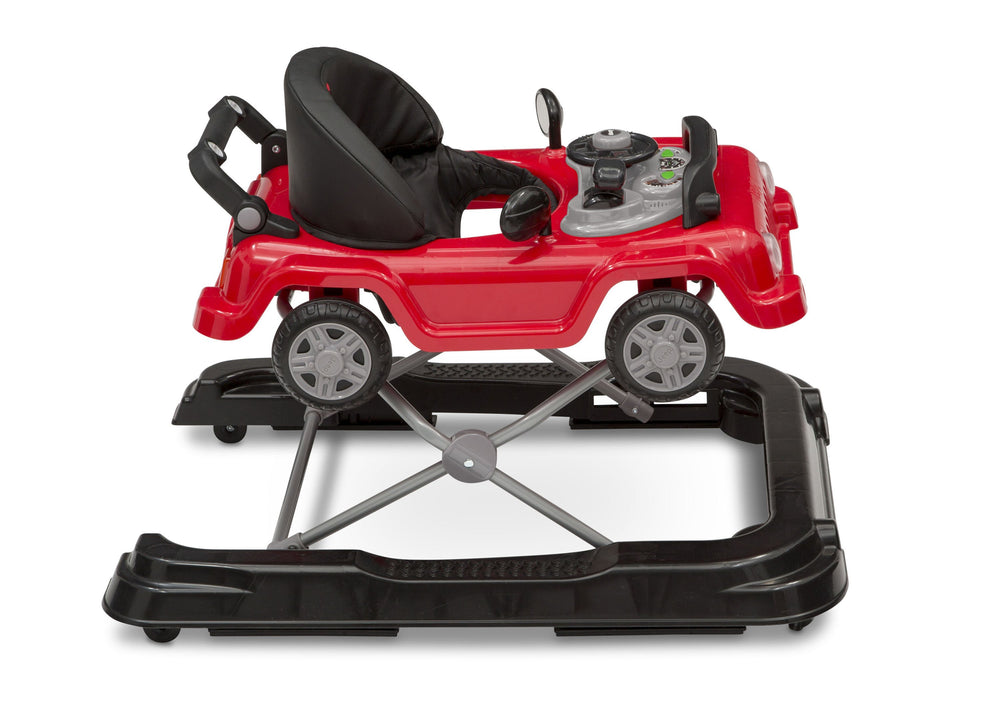 J is for Jeep Red (2312) Classic Wrangler 3-in-1 Activity Walker (22408), Right View, b5b
