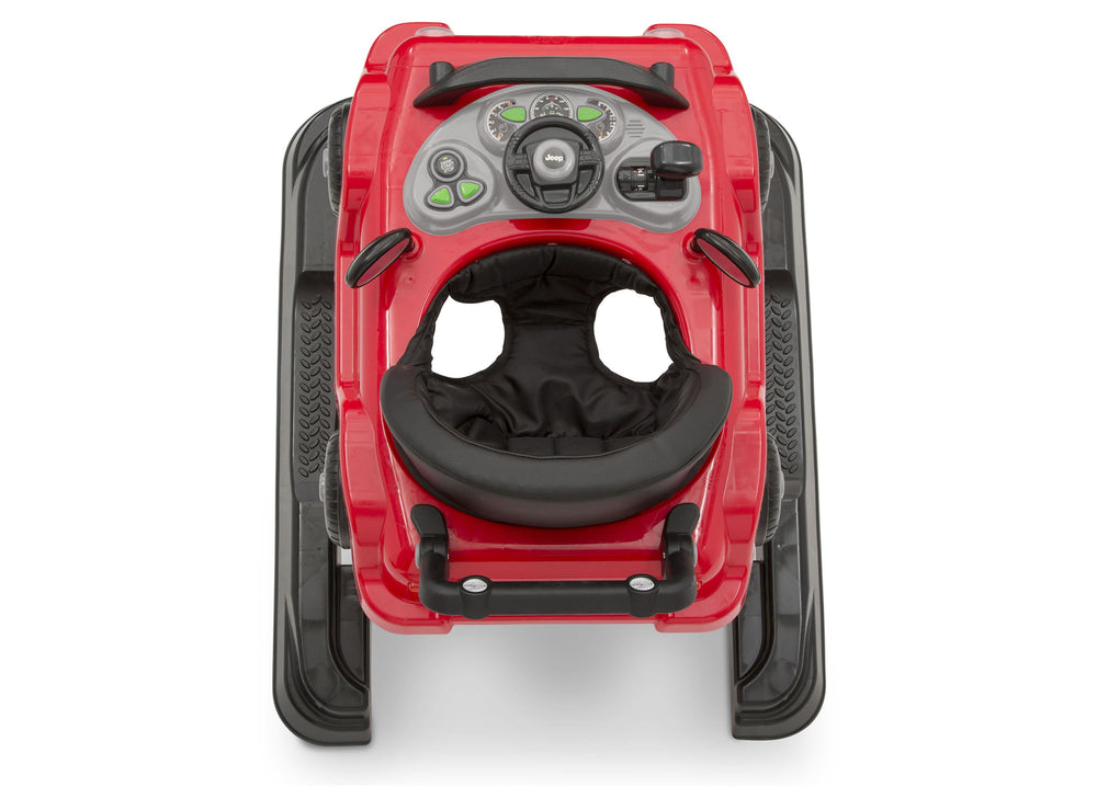 J is for Jeep Red (2312) Classic Wrangler 3-in-1 Activity Walker (22408), Birdseye View, b7b