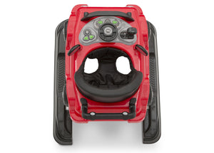 Jeep® Classic Wrangler 3-in-1 Activity Walker Red (2312), Inside View