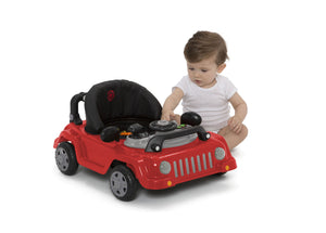 J is for Jeep Red (2312) Classic Wrangler 3-in-1 Activity Walker (22408), Baby Silo, b8b