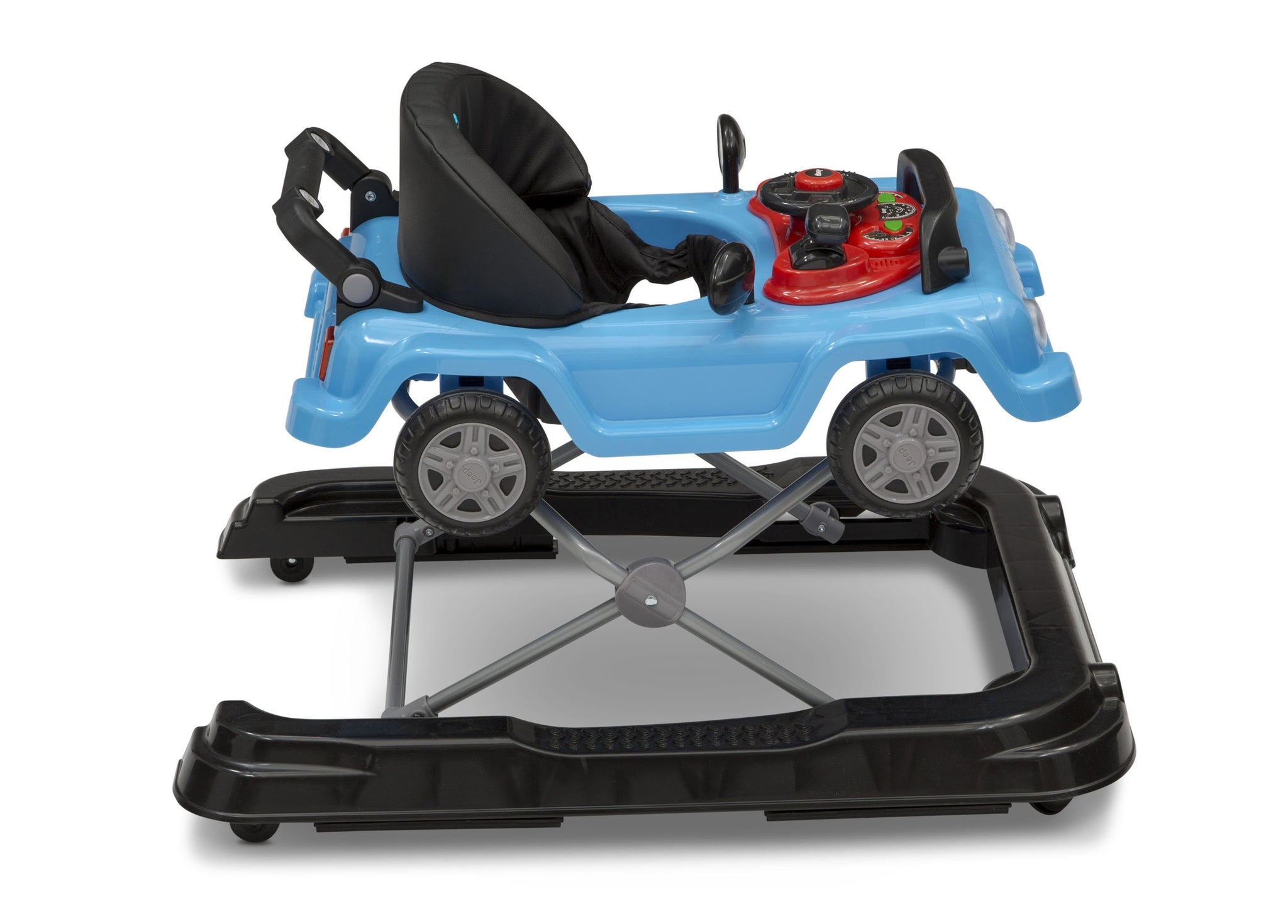 Jeep® Classic Wrangler 3-in-1 Activity Walker Blue (2315), Right Side View