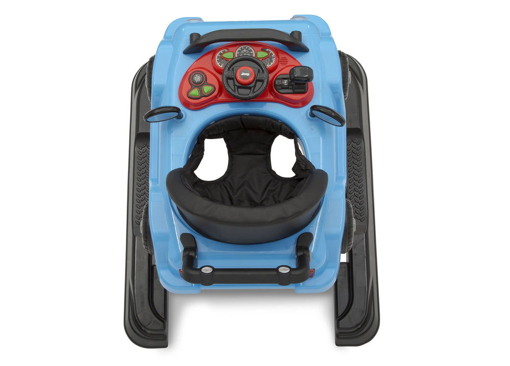 J is for Jeep Blue (2315) Classic Wrangler 3-in-1 Activity Walker (22408), Birdseye View, c7c