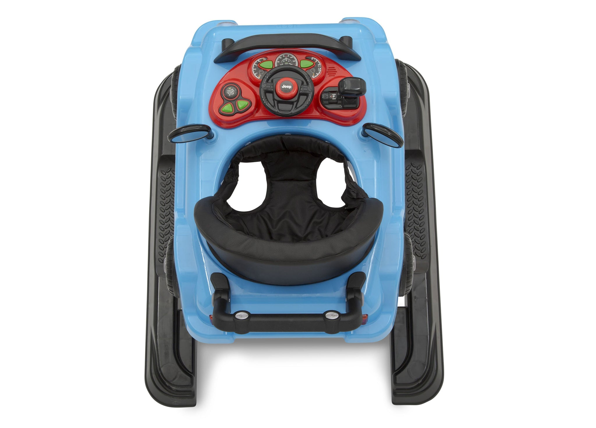 Jeep® Classic Wrangler 3-in-1 Activity Walker Blue (2315), Inside View