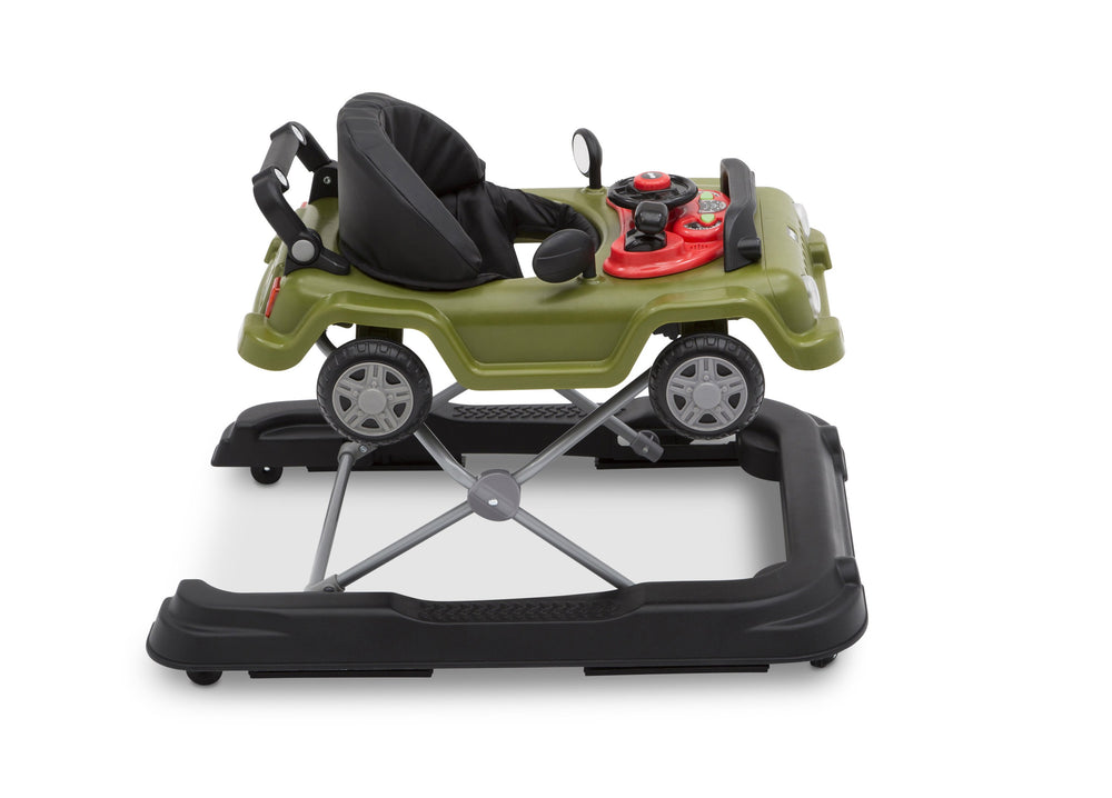 J is for Jeep Anniversary Green (348) Classic Wrangler 3-in-1 Activity Walker (22408), Right View, a5a