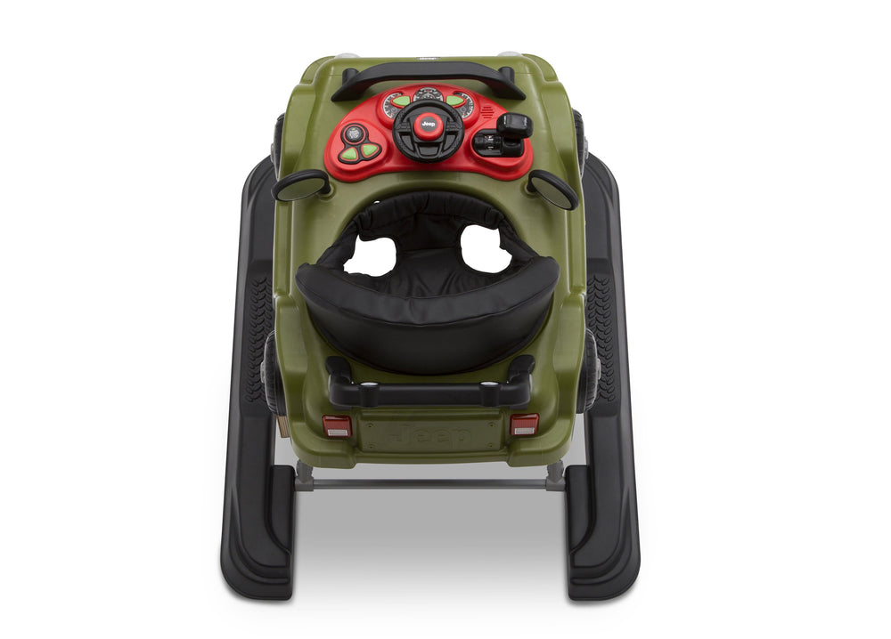 J is for Jeep Anniversary Green (348) Classic Wrangler 3-in-1 Activity Walker (22408), Birdseye View, a6a