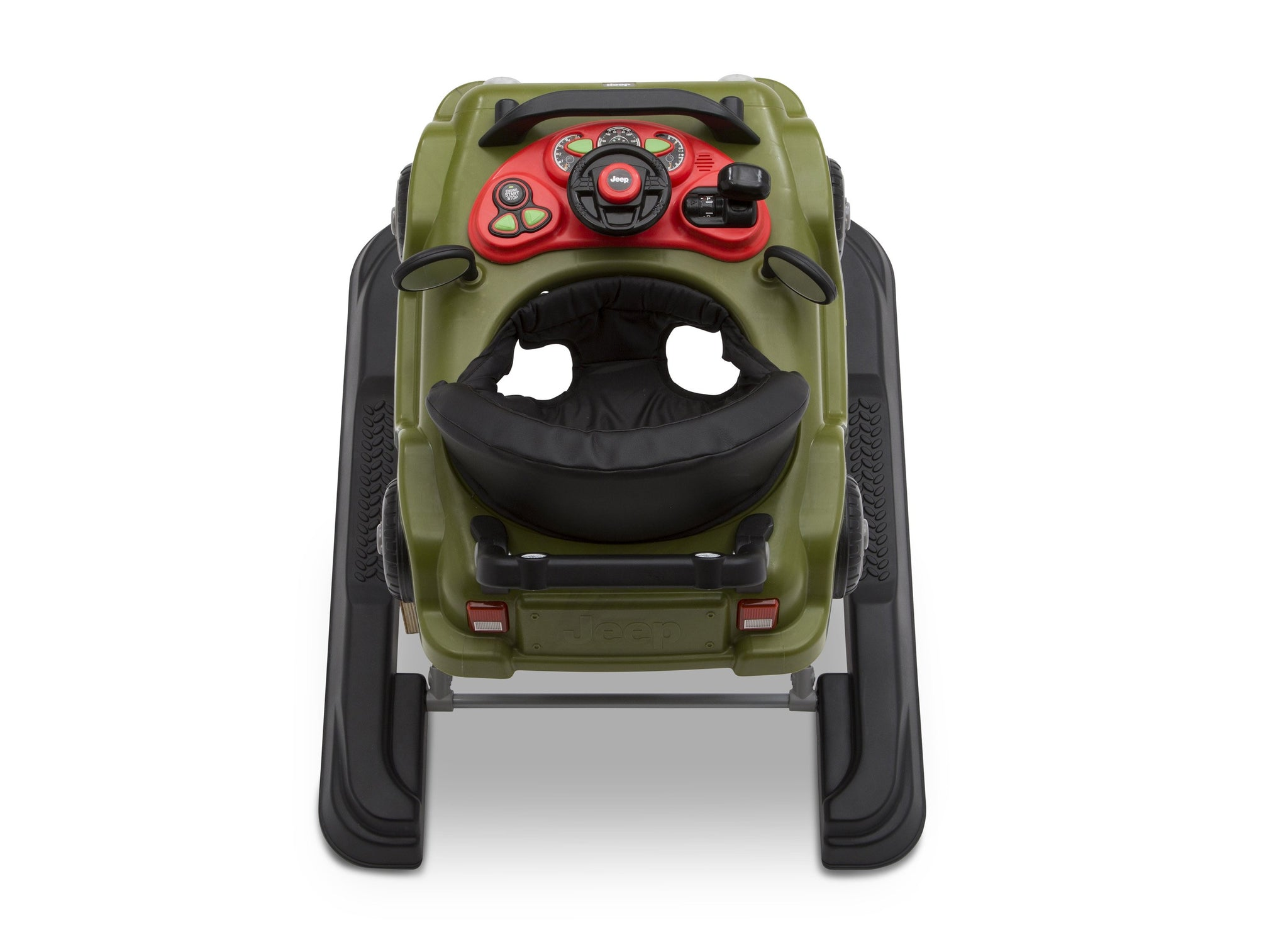 Jeep® Classic Wrangler 3-in-1 Activity Walker Anniversary Green (348), Inside View