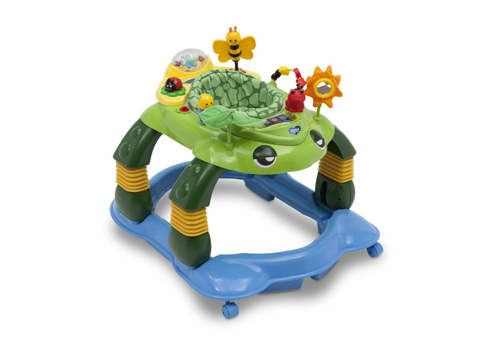 Delta Children Mason the Turtle (365) Lil Play Station II 3-in-1 Activity Center, Right View d1d