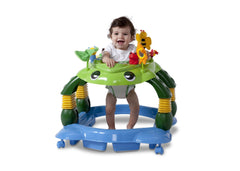 Delta Children Mason the Turtle (365) Lil Play Station II 3-in-1 Activity Center, Baby View d4d