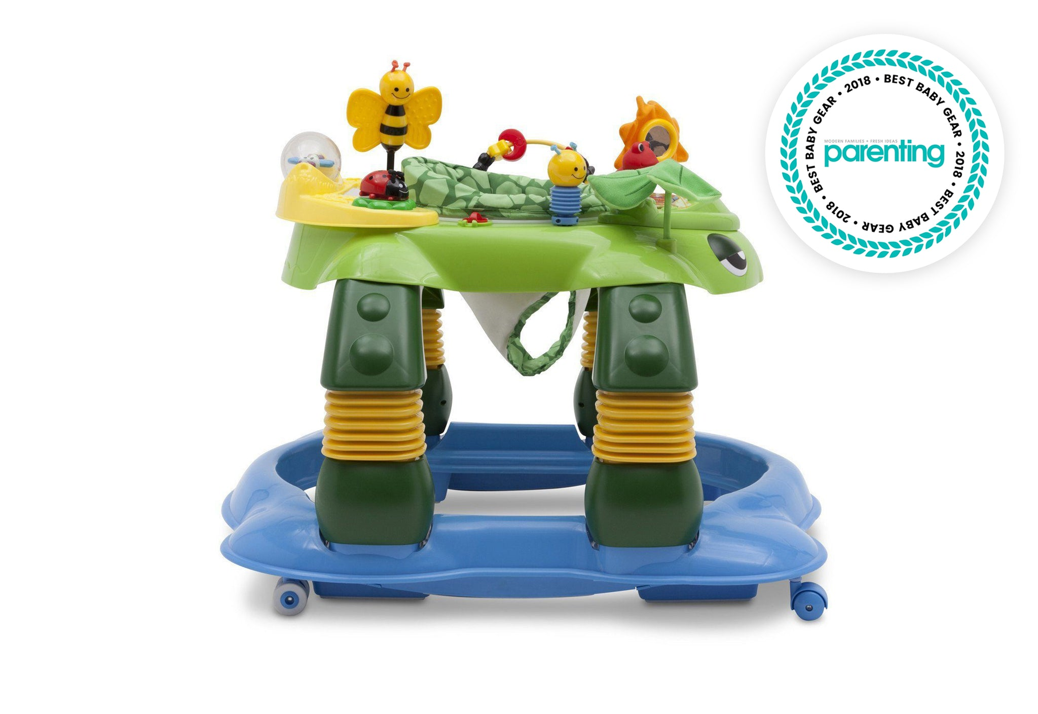 Delta Children Mason the Turtle (365) Lil Play Station II 3-in-1 Activity Center,