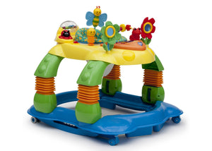 Delta Children Grid Lock (387) Lil Play Station II 3-in-1 Activity Center, Front View Detail a1a