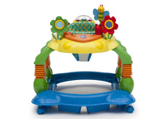 Delta Children Grid Lock (387) Lil Play Station II 3-in-1 Activity Center, Full Side View a5a