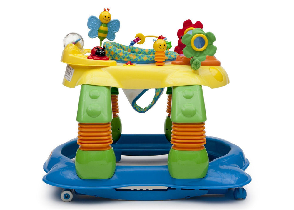 Delta Children Grid Lock (387) Lil Play Station II 3-in-1 Activity Center, Full Side View a2a